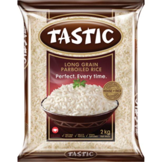 Tastic Long Grain Parboiled Rice 2kg offers at R 35,99