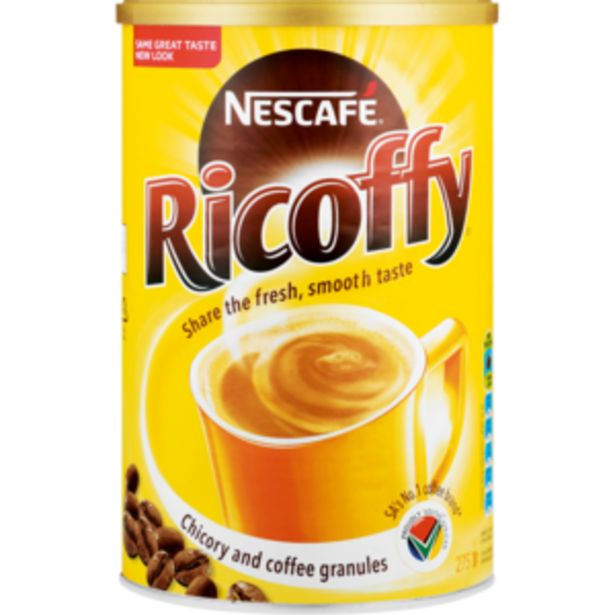 Nescafé Ricoffy Instant Coffee 750g offers at R 84,99