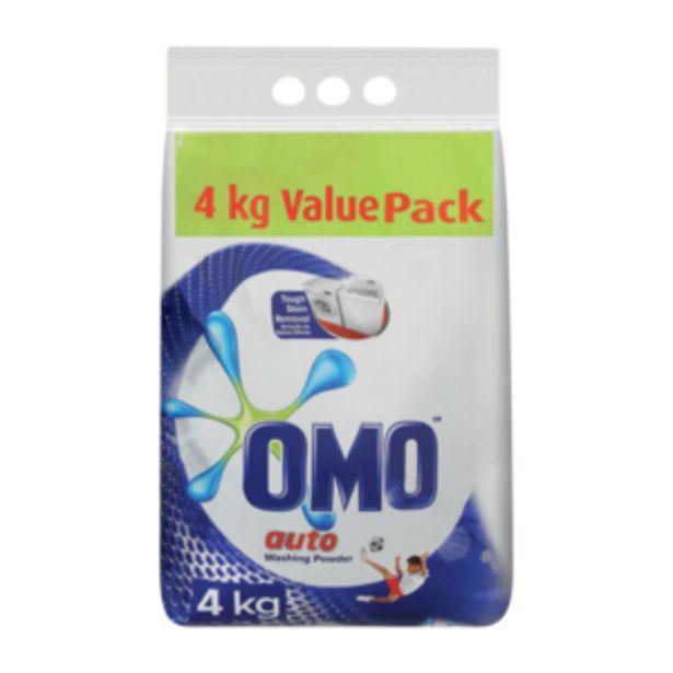 Omo Auto Washing Powder 4kg offers at R 119,99