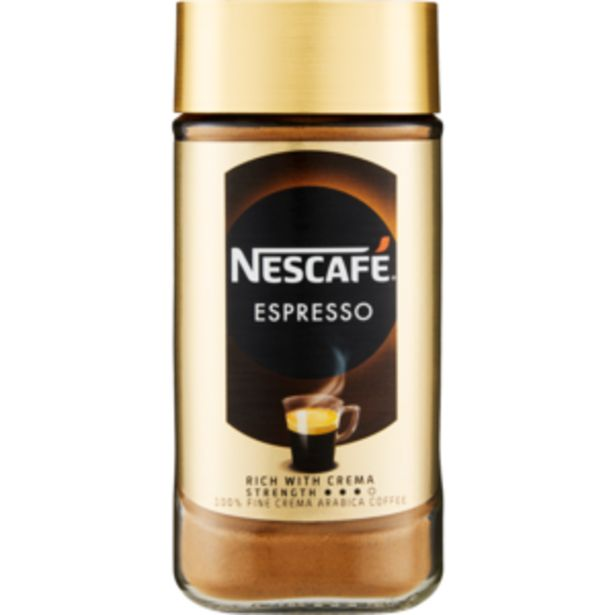 Nescafé Rich With Crema Strength Instant Espresso Coffee 200g offers at R 117,99