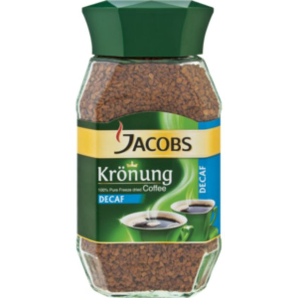 Jacobs Krönung Decaf Instant Coffee 200g offers at R 87,99