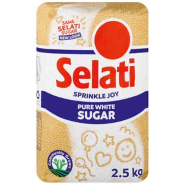 Selati White Sugar 2.5kg offers at R 39,99