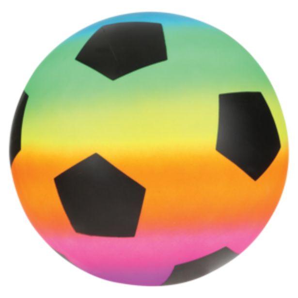 Rainbow PVC Ball 21cm offers at R 19,99
