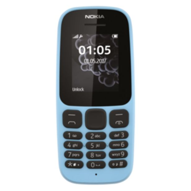 Nokia 105 Blue Mobile Phone offers at R 279