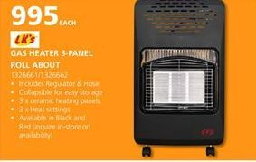 Heater offers at R 995
