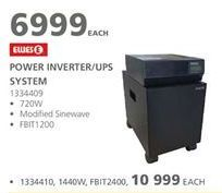 Power inverter offers at R 6999