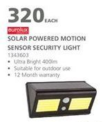 Solar lamp offers at R 320