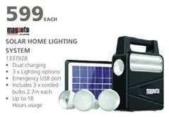 Solar lamp offers at R 599