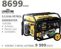 Generator offers at R 8699