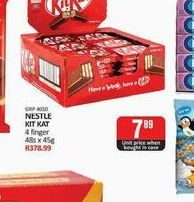Kit Kat Chocolate offers at R 7,89