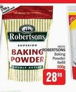 Robertsons Baking Powder offers at R 28,99
