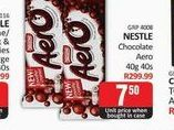 Nestlé Chocolate offers at R 7,5