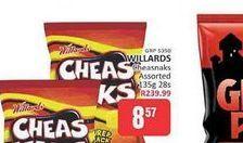 Willards Cheas Naks offers at R 8,57