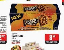 Cadbury Chocolate  offers at R 8,59