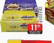 Nestlé Chocolate Slab  offers at R 11,67