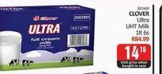 Clover UHT Milk offers at R 14,16