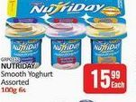 NutriDay Smooth Yoghurt  offers at R 15,99