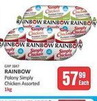 Rainbow Chicken Polony offers at R 57,99