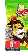 Simba Potato Chips  offers at R 5,25