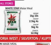 White Star Maize Meal  offers at