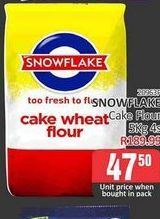 Snowflake Cake Wheat Flour  offers at R 47,5