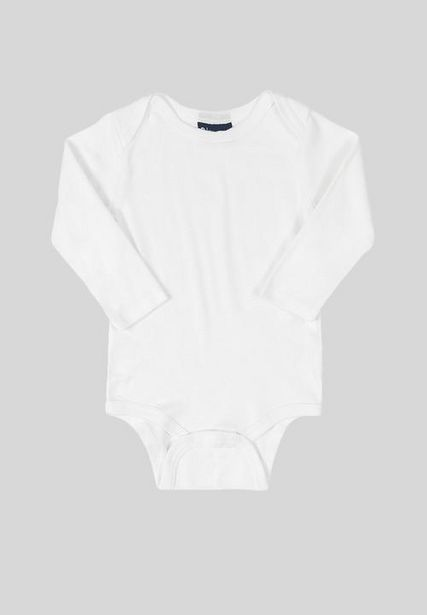 Baby girls ribbed bodysuit - white offers at R 96