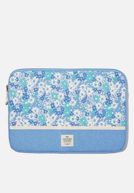 Canvas 13 inch laptop case - cornflower splice offers at R 179