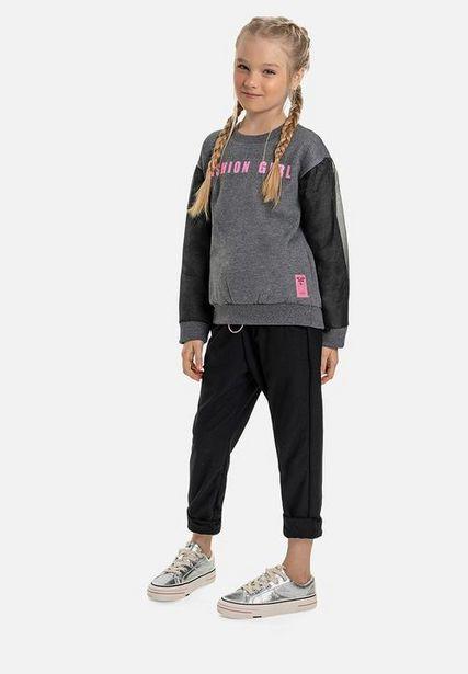 Fashion girl tee - dark grey offers at R 242