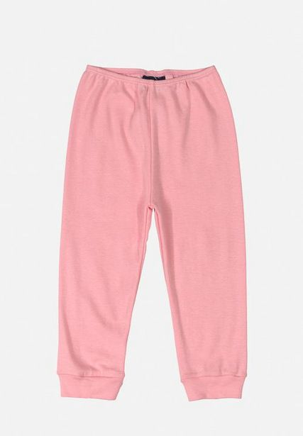 Baby girls ribbed pants - pink offers at R 80
