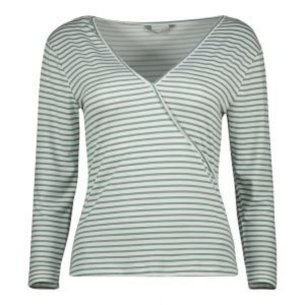 3/4 Sleeve Wrap Top offers at R 70