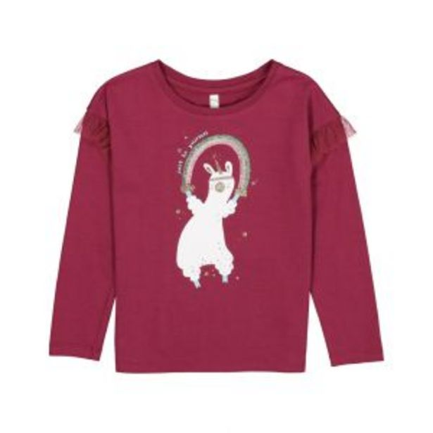 Younger Girl Mesh Frill Top offers at R 56