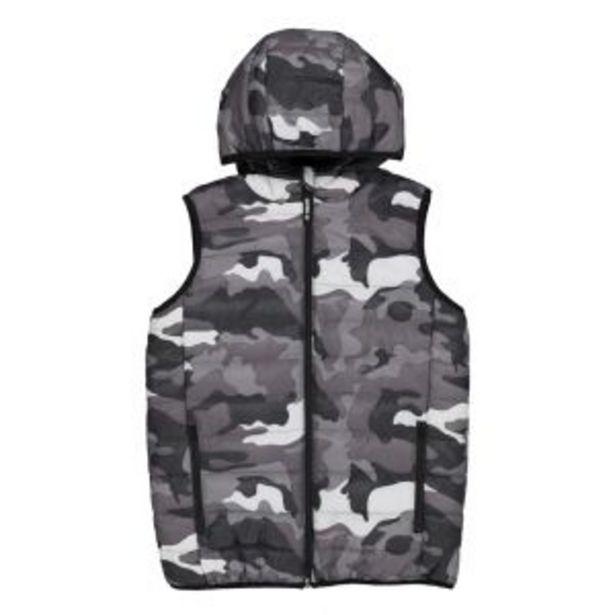 Older Boys Sleeveless Camo Jacket offers at R 150