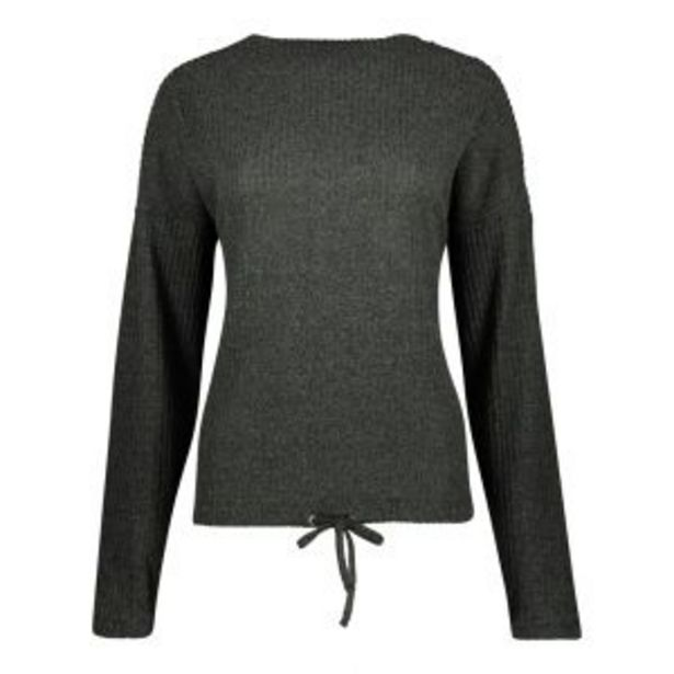 Long Sleeve Supersoft T-shirt with Drawcord Hem offers at R 110