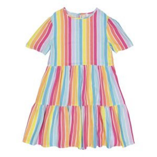 Older Girl Rainbow Stripe Dress offers at R 189,99