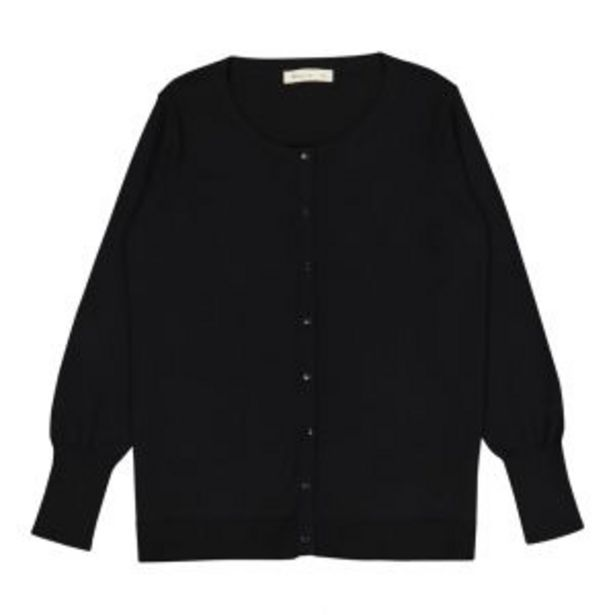 Cotton Crew Cardigan offers at R 110