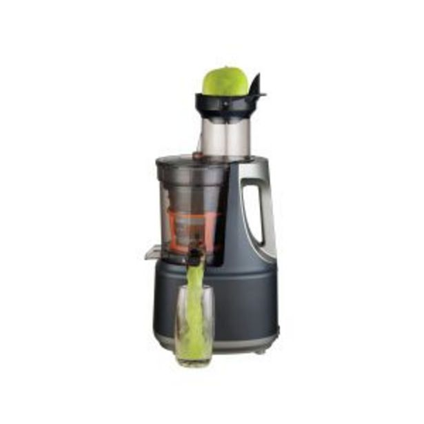 DNA Raw Press Juicer Silver/Charcoal offers at R 3999