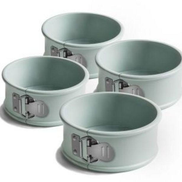 Jamie Oliver – Mini Spring Form Tins – Set of 4 offers at R 199