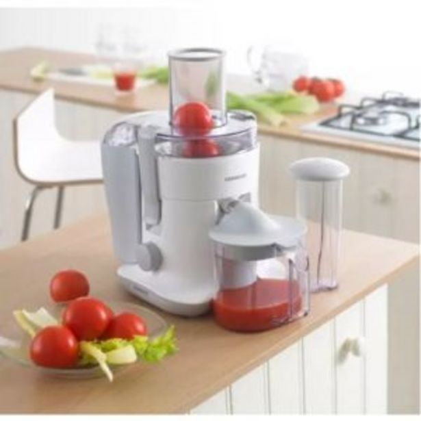 JE680 Centrifugal Juicer 700W Large Feed Tube offers at R 999