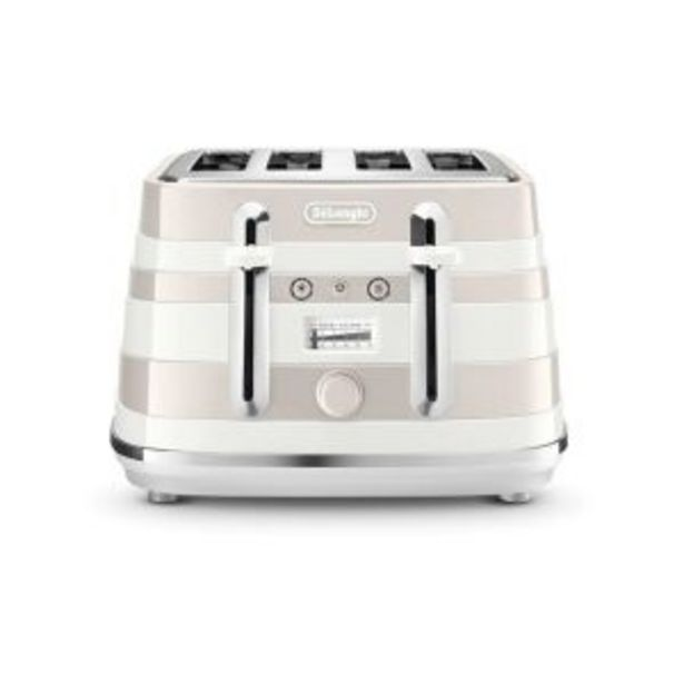 DeLonghi Avvolta Class 4 Slice Toaster G-White offers at R 2599