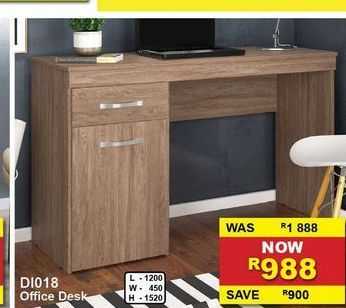 Office desk offers at R 988