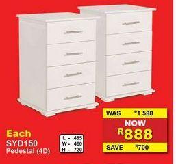 Pedestal (4D) offers at R 888