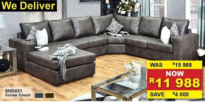 Corner couch offers at R 11,99