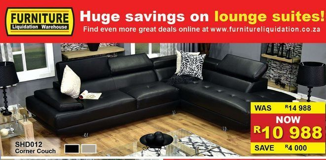 Corner couch offers at R 10988
