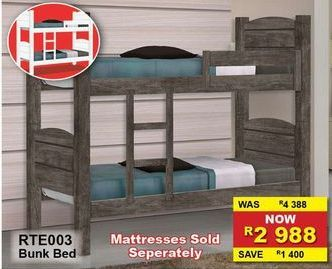 Mattresses sold separately offers at R 2988
