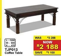 Coffee table offers at R 2188