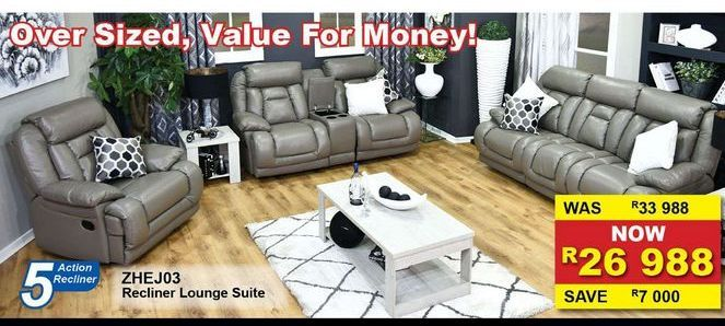 Recliner Liunge Suite offers at R 26988