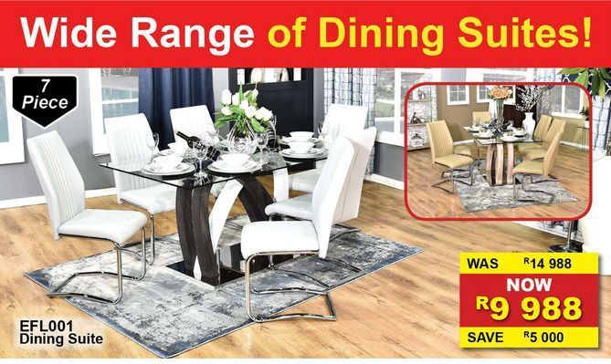 Dining Suite offers at R 9988