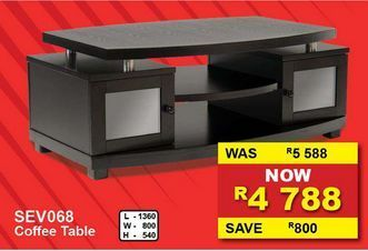 Coffee table offers at R 4788