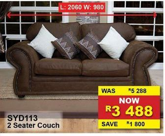 2 Seater couch offers at R 3488