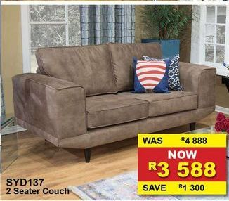 2 Seater couch offers at R 3588